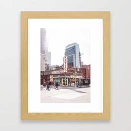 Katz IV Framed Art Print