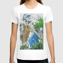 Beautiful Rock Site from Positano T-shirt