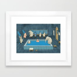 The Bathers Framed Art Print