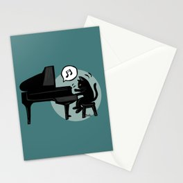 Pianist Stationery Cards