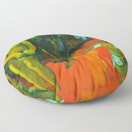 Delectable Waters (Te Pape Nave Nave) (1898) by Paul Gauguin. Floor Pillow