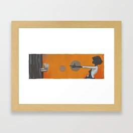 and then one thing led to another Framed Art Print