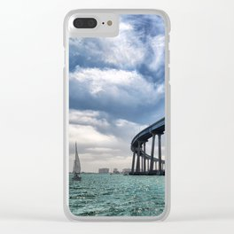 Coronado Bridge Clear iPhone Case