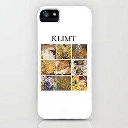 Klimt - Collage iPhone Case