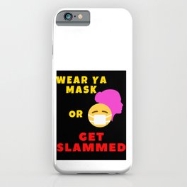 No facemask iPhone Case