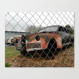 Rusty Car Canvas Print