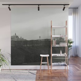 The Eiffel tower from afar Wall Mural