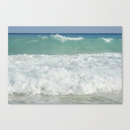 Carribean sea 9 Canvas Print