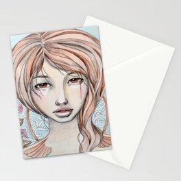 art nouveau Stationery Cards