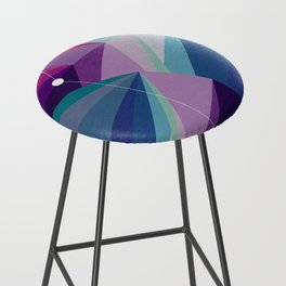 Colorful Golden Rule Bar Stool