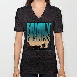 Family Business Unisex V-Neck