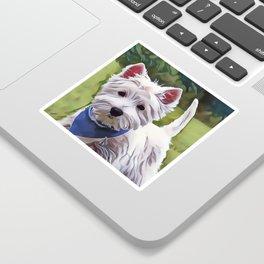 The West Highland Terrier Sticker