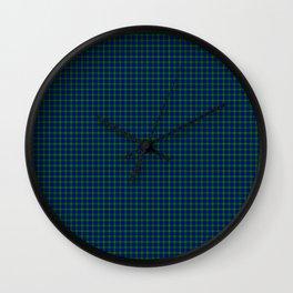 Farquharson Tartan Wall Clock