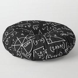 Do the Math Floor Pillow