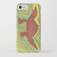 dino iPhone & iPod Cases featuring Dino by Huiskat