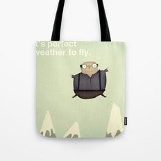 It's Perfect Weather to Fly Tote Bag