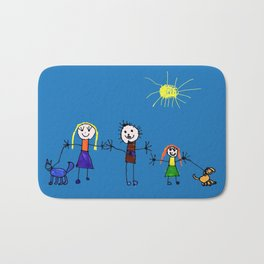Family Bath Mat