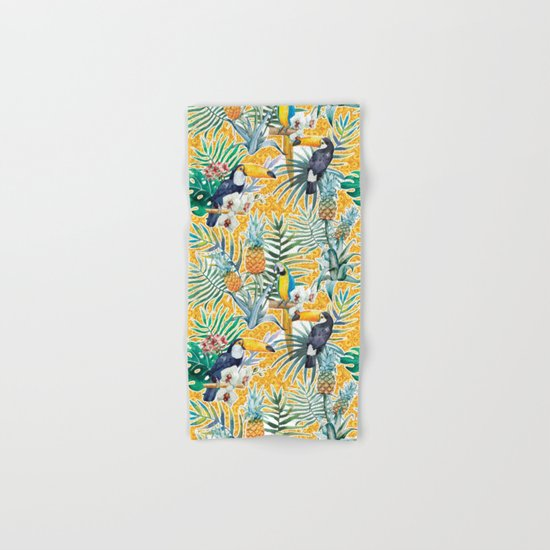 Tropical Summer #7 Hand & Bath Towel
