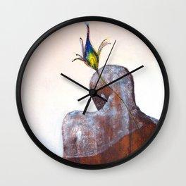 Krishna, The Blue God Wall Clock