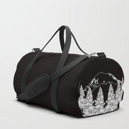 Mt. Rainier  |  Black Duffle Bag
