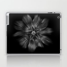 Backyard Flowers In Black And White 22 Flow Version Laptop & iPad Skin