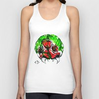 metroid Tank Tops featuring Metroid by CJ Draden