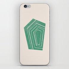 Geode II - in Emerald iPhone & iPod Skin