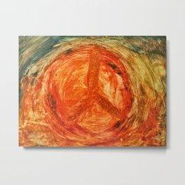 Künstler für den Frieden Metal Print