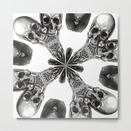 Divide and Conquer Metal Print