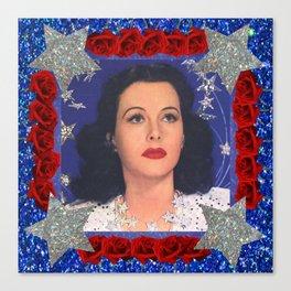 Ziegfeld Girl - Hedy Lamarr - Screen Siren  Canvas Print