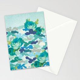 Camoflauge Roses Stationery Cards