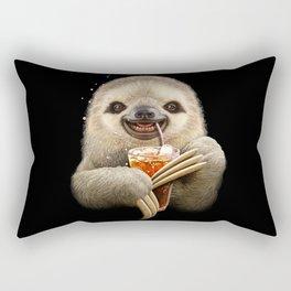 SLOTH & SOFT DRINK Rectangular Pillow