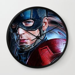 Cap.America-Civil-War 4600x6796 (1) JPEG Wall Clock