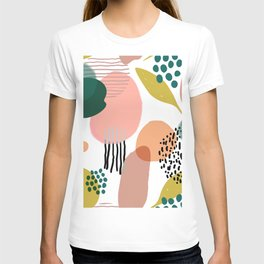 Abstract Modern Art Pattern 2 T-shirt
