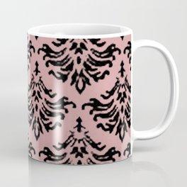 Vintage Damask Brocade Bridal Rose Coffee Mug