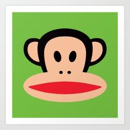 Monkey by Paul Frank Art Print