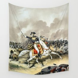 Andrew Jackson At The Battle Of New Orleans Wall Tapestry