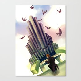 Largowind Canvas Print