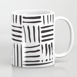 Weave in Black Coffee Mug