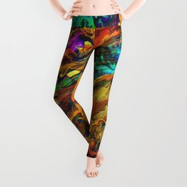 Crippled Greed Leggings