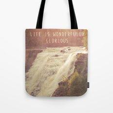 wonderful waterfalls Tote Bag
