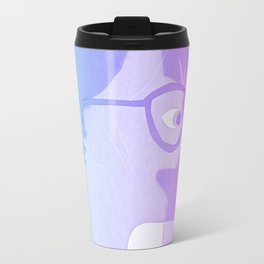 The cat inside - bicolor Travel Mug