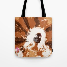 Psychedelic Moments Tote Bag
