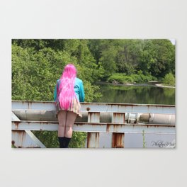 Looking to the water  Canvas Print