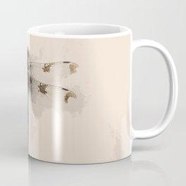 Dragonfly Still Life Coffee Mug