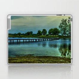 Bridge over a pond  Laptop & iPad Skin