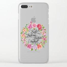 Fucking versatile Clear iPhone Case