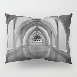 Black and white light and shadow VI Pillow Sham