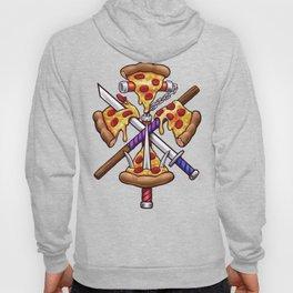 Ninja Pizza Hoody