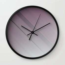 Lavender Subtlety - An Abstract Piece Wall Clock